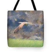 Kestrel Flying Tote Bag