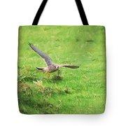 Kestrel Landing Tote Bag