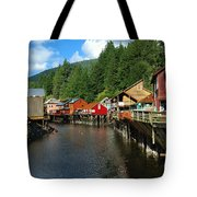 Ketchikan Creek Tote Bag