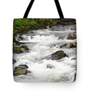 Ketchikan Creek Of Creek Street Fame Tote Bag