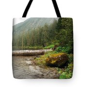 Ketchikan's Misty Fjord Tote Bag