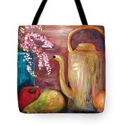 Kettle And Fruit Tote Bag