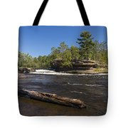 Kettle River Big Spring Falls 6 Tote Bag