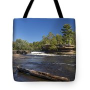 Kettle River Big Spring Falls 7 Tote Bag