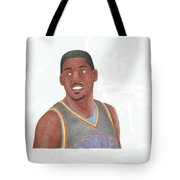 Kevin Durant Tote Bag by Toni Jaso