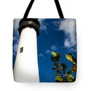 Key Biscayne Lighthouse, Florida Tote Bag