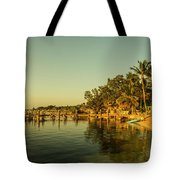 Key Largo Gold  Tote Bag