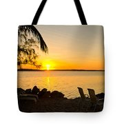 Key Largo Sunrise Tote Bag