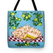 Key Lime Pie Mini Painting Tote Bag