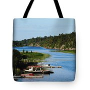 Key River Tote Bag