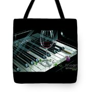 Key To Wine Tote Bag