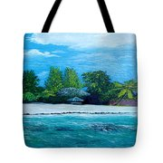 Key West Beach Tote Bag