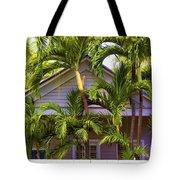 Key West Bungalow Tote Bag