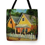 Key West Cottage Tote Bag