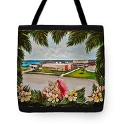 Key West High School From The 60's Era Tote Bag