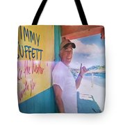 Key West Illusion Tote Bag