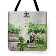 Key West Lighthouse Tote Bag