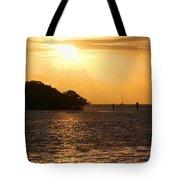 Key West Mangrove Sunrise Tote Bag