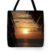Key West Palm Sunset 2 Tote Bag
