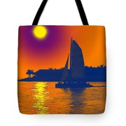 Key West Passion Tote Bag