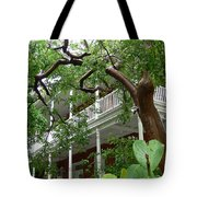 Key West Pink And Green Tote Bag
