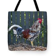 Key West Rooster 2 Tote Bag