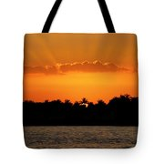 Key West Sunset 25 Tote Bag