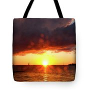 Key West Sunset 26 Tote Bag
