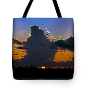 Key West Sunset Glory Tote Bag