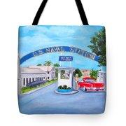 Key West U.s. Naval Station Tote Bag