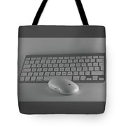 Keyboard And Mouse  Tote Bag