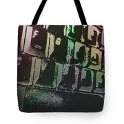 Keyboard In The Abstract Tote Bag