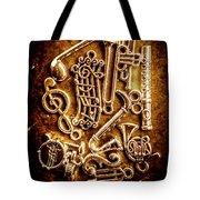 Keys Of A Symphonic Orchestra Tote Bag