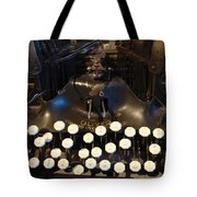 Keys Of Time Tote Bag
