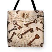 Keys On Artwoork Tote Bag