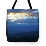Keys View Sunset Landscape Tote Bag