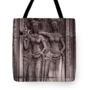 Khmer Court Dancers Tote Bag