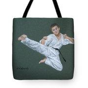 Kick Fighter Tote Bag