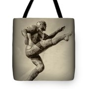 Kick Off Tote Bag by Bill Cannon