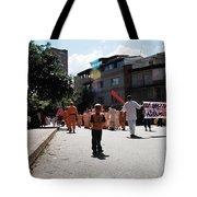 Kid On Parade Tote Bag