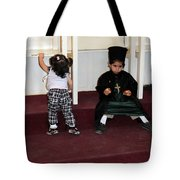 Kids And Religion Tote Bag