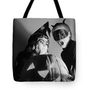 Kids In Halloween Costumes Tote Bag