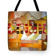 Kids In Venice Tote Bag