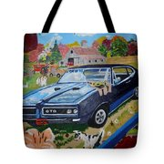 Kids,country And Old Goats Tote Bag