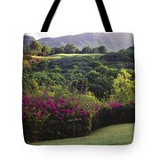 Kiele Course, Flowers And Vegetation Tote Bag
