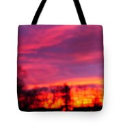 Kiera's Sunset Tote Bag