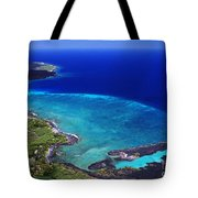 Kiholo Bay Aerial Tote Bag