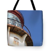 Kilauea Lighthouse Against The Sky Tote Bag