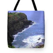 Kilauea Lighthouse And Bird Sanctuary Tote Bag