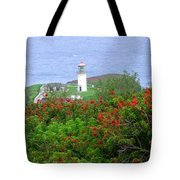 Kilauea Lighthouse Kauai Hawaii Tote Bag